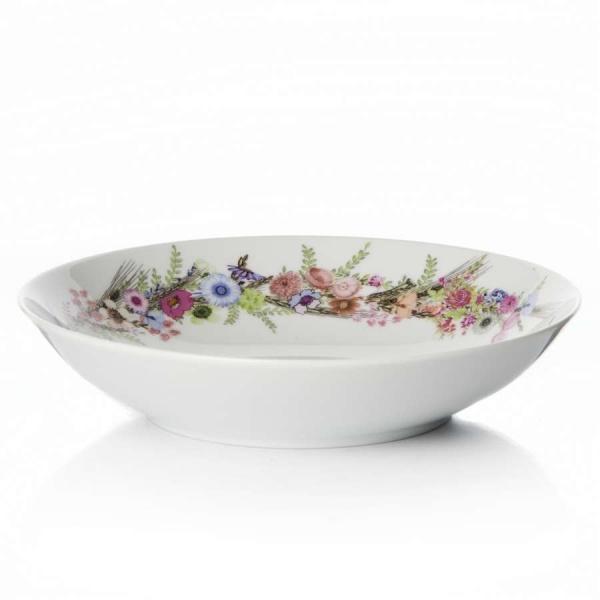 Тарелка суповая CROWN OF FLOWERS 21см
