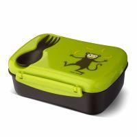 Ланч-бокс детский с охлаждающим элементом N'ice Box™ Monkey лайм 106101 Carl Oscar