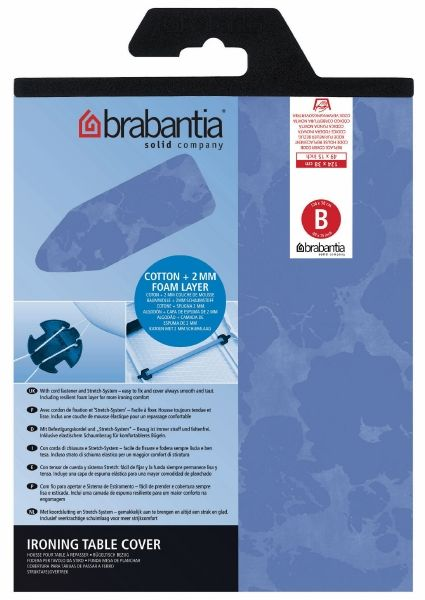 Чехол для гладильной доски Brabantia 124x38 см цвет нейтральный 191442