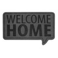 Коврик придверный Welcome Home серый 26782 Balvi