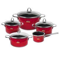 Набор посуды KOCHSTAR из 5-ти предметов, цвет красный Metallica SOLID, RED-3
