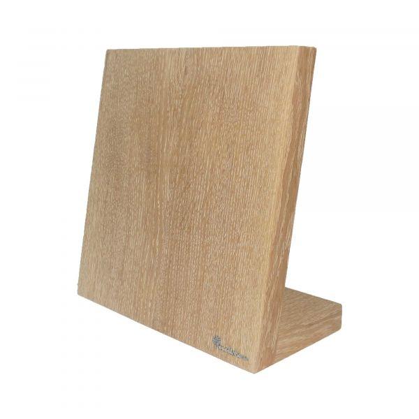 Подставка для ножей Woodinhome магнитная цвет беленый дуб KS002LSOW