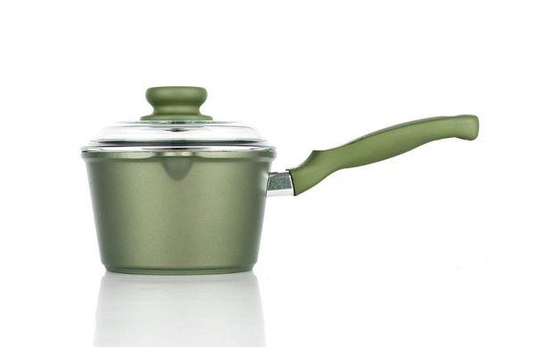 Ковш с крышкой Risoli Dr Green 16 см, 0095BDR/16GS