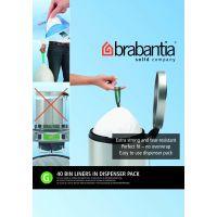 Пакет пластиковый Brabantia 23/30 л 40 шт 375668