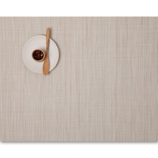 Салфетка Chilewich BAMBOO подстановочная жаккардовое плетение материал винил 36x48 см Chino 0025-BAMB-CHIN