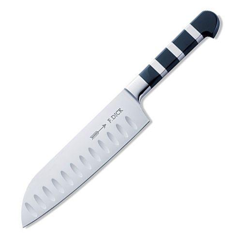 Нож профессиональный кованый Сантоку 18 см DICK 1905