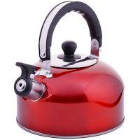 Чайник из нержавеющей стали 2,3 л со свистком без упаковки Mayer&Boch, ВК022кр