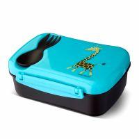 Ланч-бокс детский с охлаждающим элементом N'ice Box™ Giraffe бирюзовый 106103 Carl Oscar