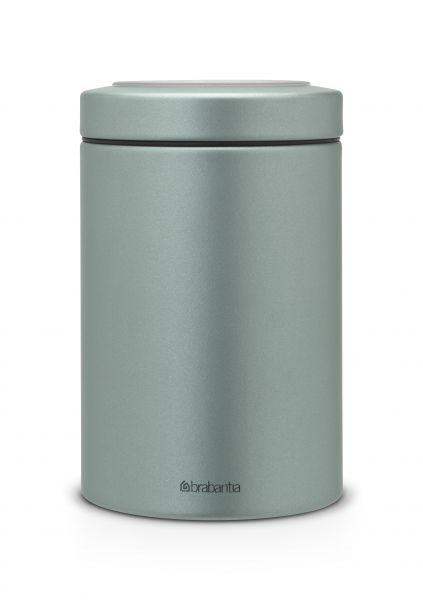 Контейнер Brabantia с прозрачной крышкой 1,4 л 360 г цвет мятный металлик 484346