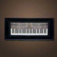 Картина ROOMERS «Пианино» H-DIM-WS-0004-Z