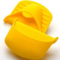 Прихватка желтого цвета 10,5х8см из силикона, Mayer&Boch, 22080N4