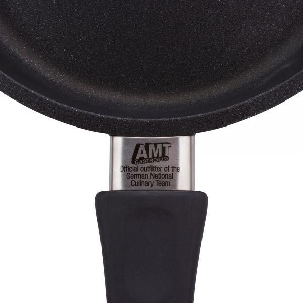 Сковорода алюминиевая с антипригарным покрытием 24 см, фиксированная ручка AMT Frying Pans, AMT424FIX