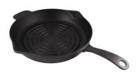 Литая чугунная сковорода-гриль LAVA ECO 28 см RD, LVECOYGT28RD