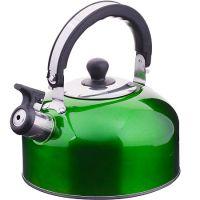 Чайник из нержавеющей стали 2,3 л со свистком Mayer&Boch, ВК002зк