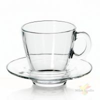 Чашка с блюдцем закал. АКВА 6 перс.