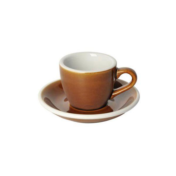 Кофейная пара LOVERAMICS 80 мл цвет карамельный C088-86BCA/C088-87BCA