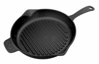 Литая чугунная сковорода-гриль LAVA ECO 28 см, LVECOYGT28