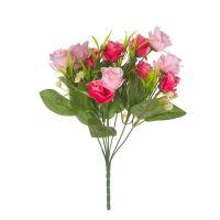 Роза в букете 7 цветов на стебле розов