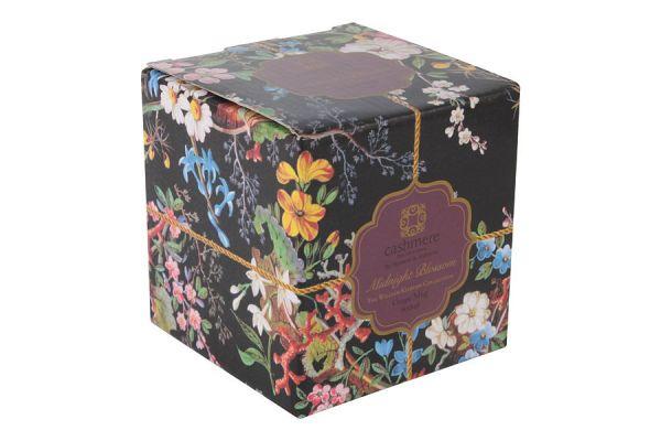 Чашка с блюдцем Полночные цветы, большая, в подарочной упаковке, MW637-WK01300