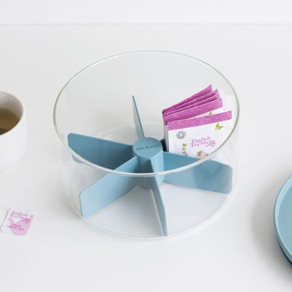 Модульный стеклянный контейнер для чая, Brabantia