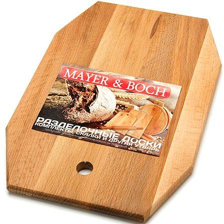 Доска разделочная Mayer&Boch в форме ромба большая 07-1