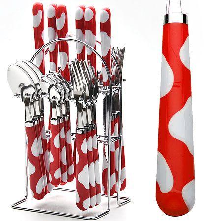 Набор столовых приборов Mayer&Boch на металлической подставке 22491-1