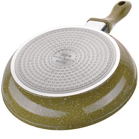 Сковорода алюминий 28 см с покрытием из мраморной крошки Mayer&Boch, 26748