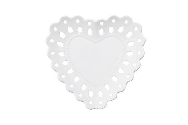 Тарелка (сердце) Лилия в подарочной упаковке, малая, MW580-AY0041