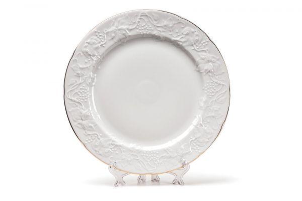 Тарелка десертная 21 см, La Rose des Sables, серия VENDANGE Filet Or, 690121 1009