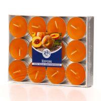 Свечи чайные Персик 24 шт