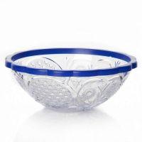 Салатник «Хрусталь» 500 мл цвет прозрачно-синий M5436