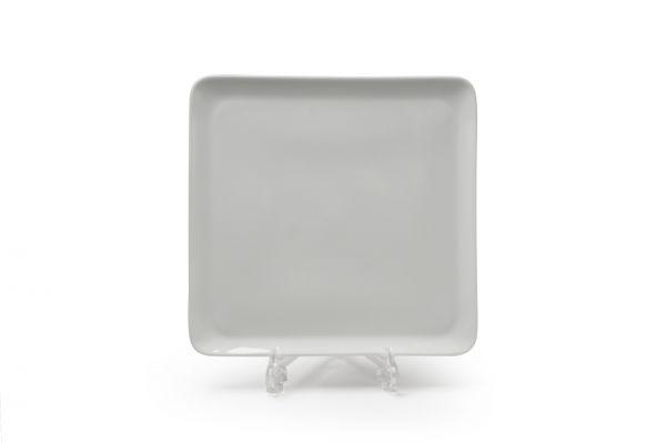 Тарелка квадратная 24,5 см, Tunisie Porcelaine, серия YAKA