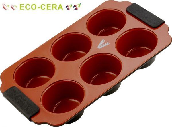 Форма для кексов 26х18х4 см (серия Chocolate Cherry) Vitesse VS-2354