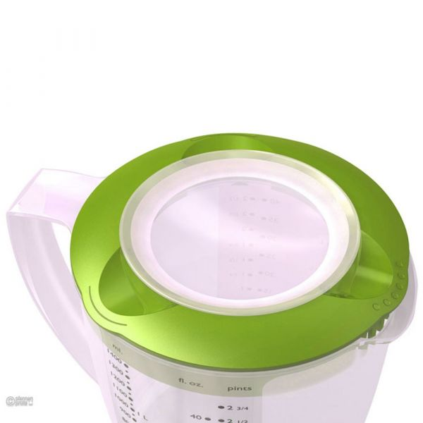 Кувшин для смешивания Westmark Baking 1,4 л с крышками цвет зеленый 3105227A