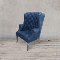 Кресло C0061-1D/blue #B126