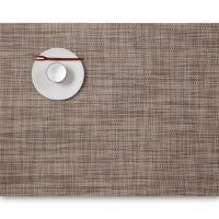 Салфетка Chilewich MINI BASKETWEAVE подстановочная жаккардовое плетение материал винил 36x48 см Soapstone 0025-MNBK-SPST