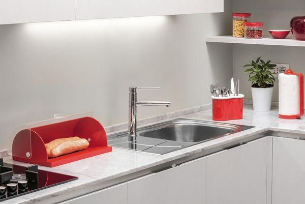 Держатель для бумажных полотенец Forme casa красный 01455731