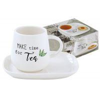 Чашка с блюдцем Kitchen Elements в подарочной упаковке, EL-R1904_KITE