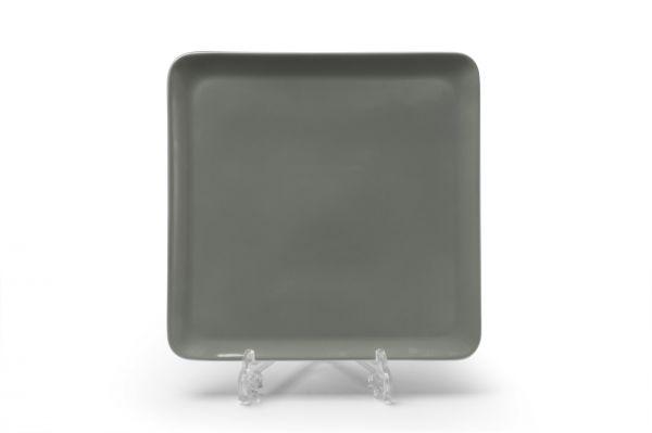 Тарелка квадратная 25 см, La Rose des Sables, серия YAKA GRIS, 880325 3064