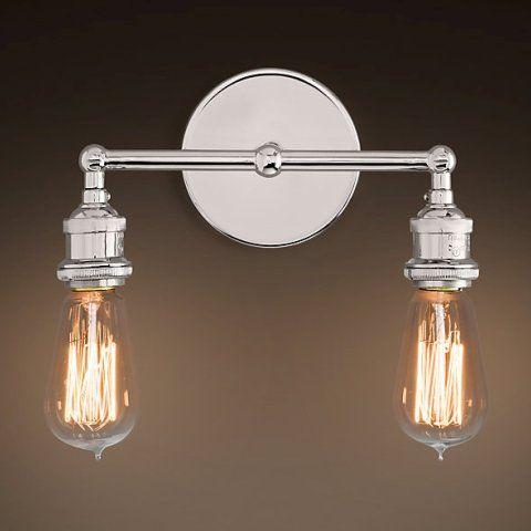Светильник RESTORATION HARDWARE «Джесси Дабл» 14x12x29 см DTL9109