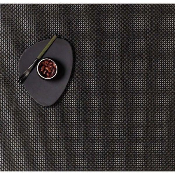 Салфетка Chilewich BASKETWEAVE подстановочная жаккардовое плетение материал винил 36x48 см Chestnut 0025-BASK-CHES