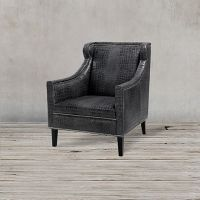 Кресло ROOMERS, C0175-1D/black #B76