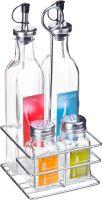 Набор для масла и уксуса на подставке HANS & GRETCHEN, 14QD-4018