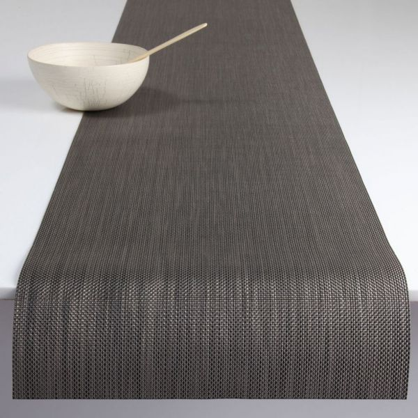 Салфетка подстановочная, жаккардовое плетение 36*48 см CHILEWICH Mini Basketweave, 0025-MNBK-LTGR