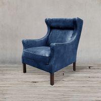 Кресло ROOMERS, S0001-1D/blue #B126