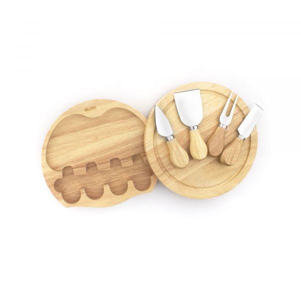 Набор ножей для сыра с разделочной доской IBILI Kitchen Aids, 782750