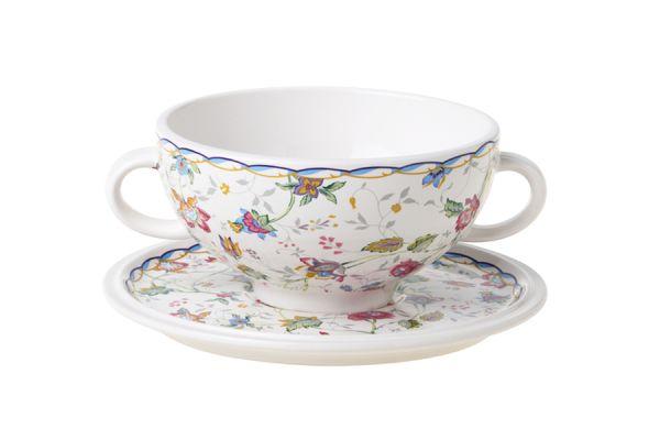 Суповая чашка на блюдце Букингем, IMB0304-A218AL