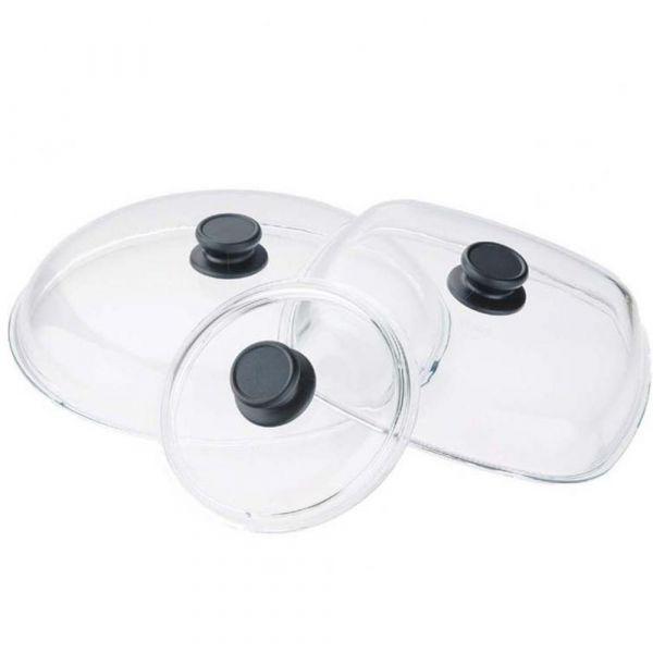 Крышка стеклянная 32 см AMT, серия Glass Lids, AMT032
