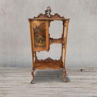 Стеллаж Льюис DM- Louis walnut cabinet