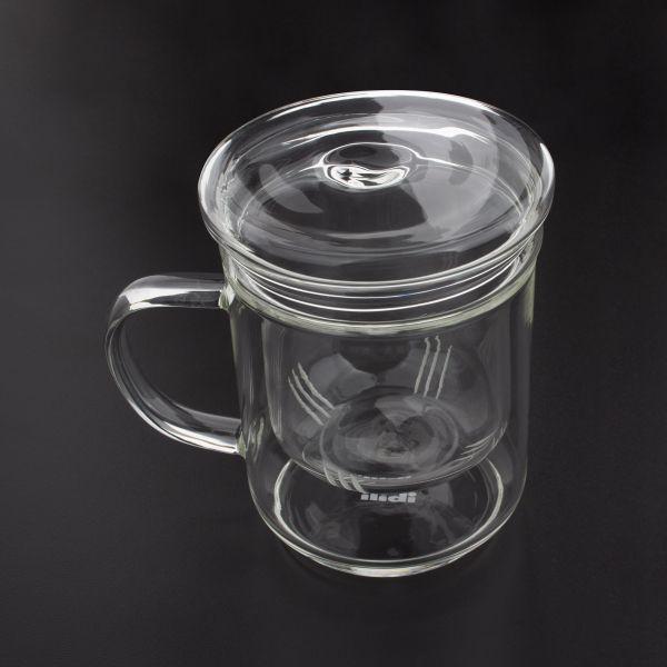 Кружка со съемным фильтром для заваривания чая 400 мл IBILI Coffee&Tea, 624500
